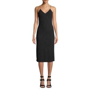 NWOT Alice + Olivia Stila Fitted Side-Slit Gown 10